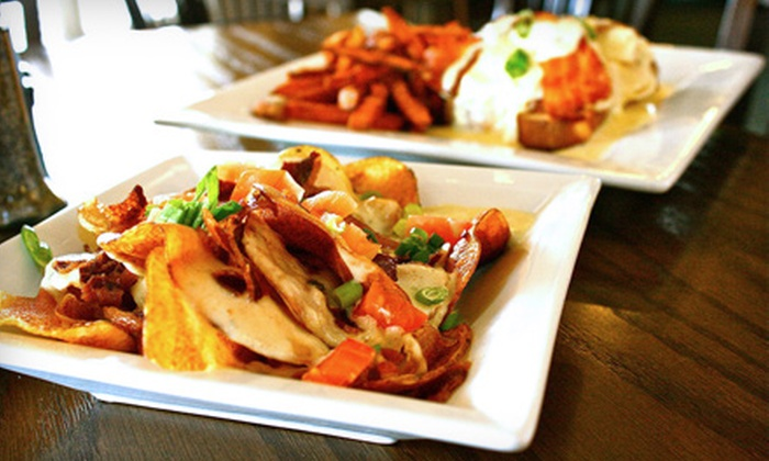 Augusta's Restaurant at The Georgia Trail  - Suwanee-Duluth: Dining Credit with Mini Golf for Two or Four with at Augusta's Restaurant and The Georgia Trail (Up to 65% Off)