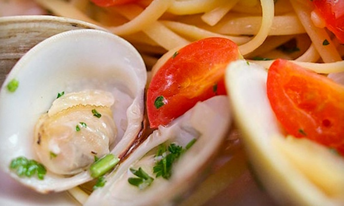 d'Carlo Italian Restaurant - Oak Lawn: $60 for a Five-Course Tasting Menu for Two at d'Carlo Italian Restaurant ($120 Value)