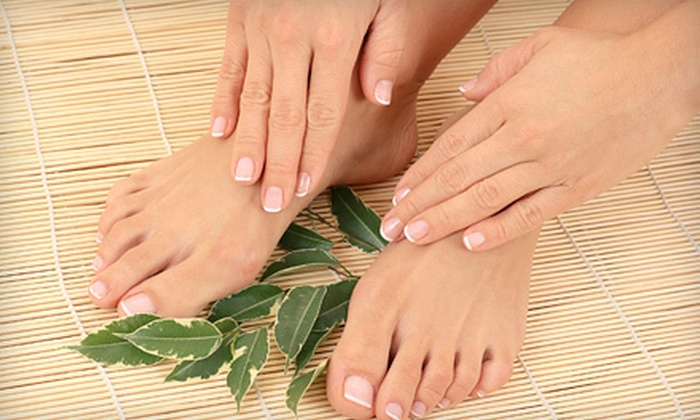 Elisabeth Hair  - Spence: One or Two Mani-Pedis, or Five Bottles of Crackle Nail Polish at Elisabeth Hair (Up to 63% Off)