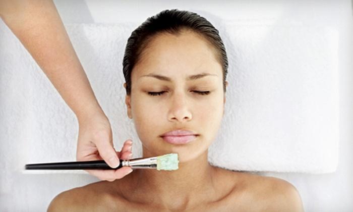 The Healing Place Boutique & Nail Salon - Denbigh: Back Facial or Therapeutic Facial at The Healing Place Boutique & Nail Salon in Newport News (Up to 51% Off)