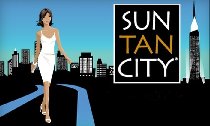 Sun Tan City Knoxville - Multiple Locations: UV and Sunless Tanning at Sun Tan City. Choose Between Two Options.