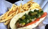 Chicago Dogs - Scarborough: $6 for $12 Worth of Hot Dogs, Wings, and Drinks at Chicago Dogs