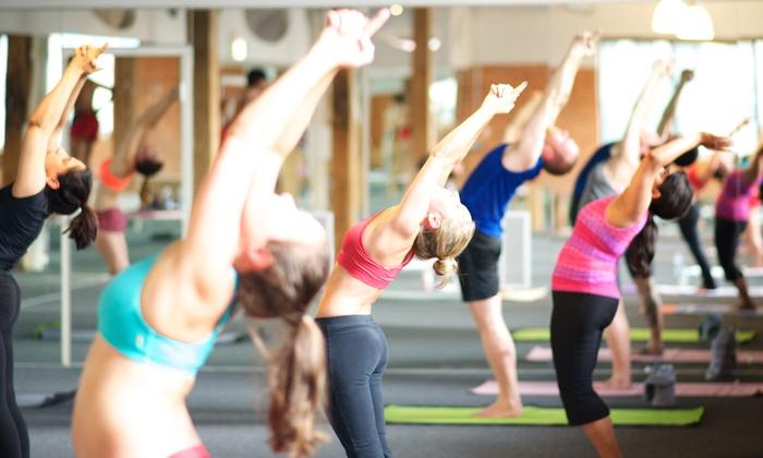 Bikram Yoga West Loop Chicago - West Loop: 10 or 20 Bikram Yoga Classes or One Month of Unlimited Classes at Bikram Yoga West Loop (74% Off)