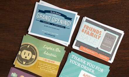 Custom Postcards from Vistaprint