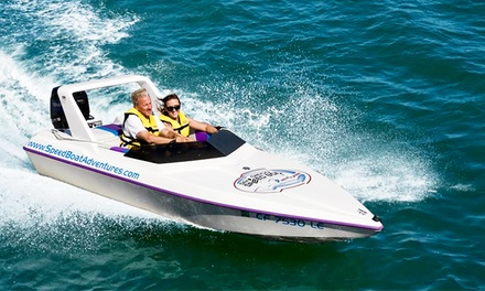 $64 for a Two-Hour Speedboat Adventure Tour for Two from Tampa Speed Boat Adventures ($129.80 Value)