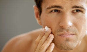 Menzone Hair Co & Spa - Liz: Up to 50% Off Wash, Men's Cut, Style, Hot Towel Neck Shave, and Conditioning Treatment