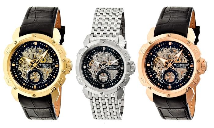 e3a349de5 Heritor Carter Men's Watch | Groupon Goods