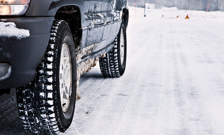 $49 for a Winter-Tire Change-Over with Mounting and Balancing at Jiffy Lube ($99 Value)