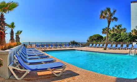 Groupon Deal: Stay at Captain's Quarters Resort in Myrtle Beach, SC; Dates into June