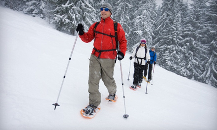 EMS Outdoor Schools - Gardiner: All-Day Snowshoe or Cross-Country-Ski Rental for Two or Four at EMS Outdoor Schools (Up to 65% Off)