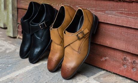 Zapatos de cuero para hombre disponible en 2 colores por 39,99€