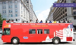 CitySights DC: 24-Hour Double-Decker Bus Tour or 48-Hour Bus Tour with Attractions from CitySights DC (Up to 30% Off)