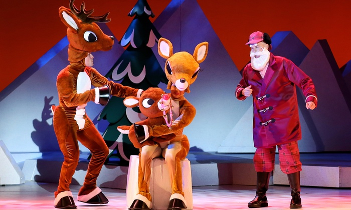 """""""Rudolph the Red-Nosed Reindeer"""" - Multiple Locations: """"Rudolph the Red-Nosed Reindeer: The Musical"""" on December 2–6"""