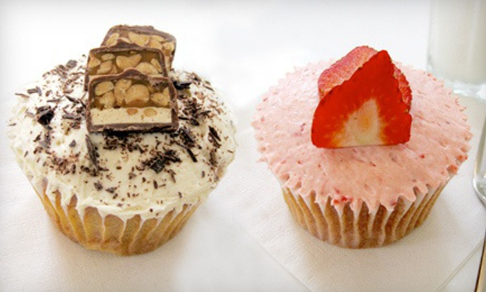 Sara Sara Cupcakes - Downtown Oklahoma City: One or Two Dozen Cupcakes at Sara Sara Cupcakes (Up to 44% Off)