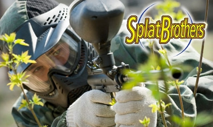 SplatBrothers PaintBall - Hopewell: $19 for Three Hours of Paintball at SplatBrothers PaintBall Park ($39 Value)