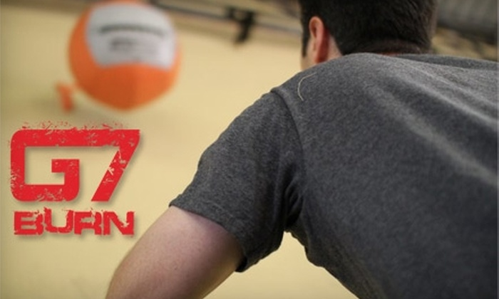 "G7 Athletics - Laredo Entertainment Center: $32 for One-Month ""Burn"" Boot Camp at G7 Athletics in Laredo ($65 Value)"
