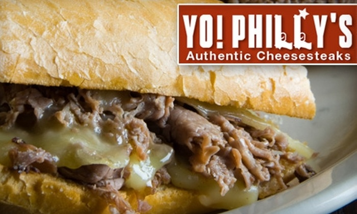 Yo! Philly's - Alameda: $5 for $10 Worth of Cheesesteaks and More at Yo! Philly's in Alameda