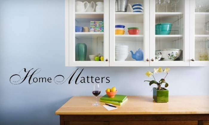 Home Matters Inc - Omaha: $20 for Two Hours of Personal Assistance and Concierge Services From Home Matters, Inc. ($50 Value)