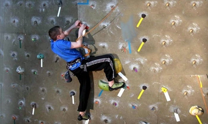 Wallnuts Climbing Centre - Kenmount/Thorburn: $15 for Learn to Climb Package ($30.97 Value) or $87 for 10-Week Junior Program (Up to $175 Value) at Wallnuts Climbing Centre