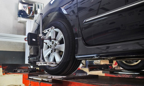 $47.79 for All-Wheel Alignment at Discount Auto and Tire Service ($89.95 Value)