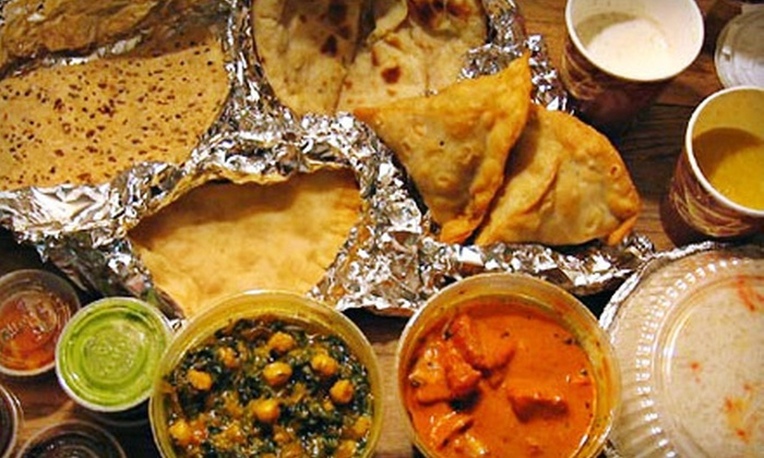 Spice-To-Go - Deerwood Center: $9 for an Indian Meal for Two at Spice-To-Go (Up to $18.90 Value)