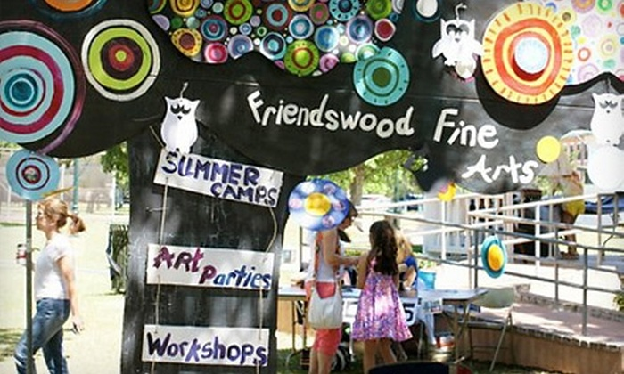 Friendswood Fine Arts Institute - Friends Knoll: One-Year Family, Student, or Artist-Level Membership to Friendswood Fine Arts Institute