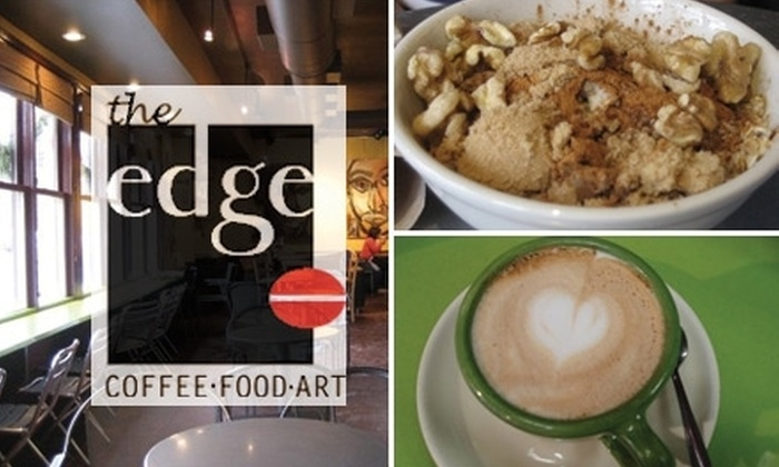 The Edge - Providence: $10 for $20 Worth of Coffee, Sandwiches, Pastries, and More at The Edge