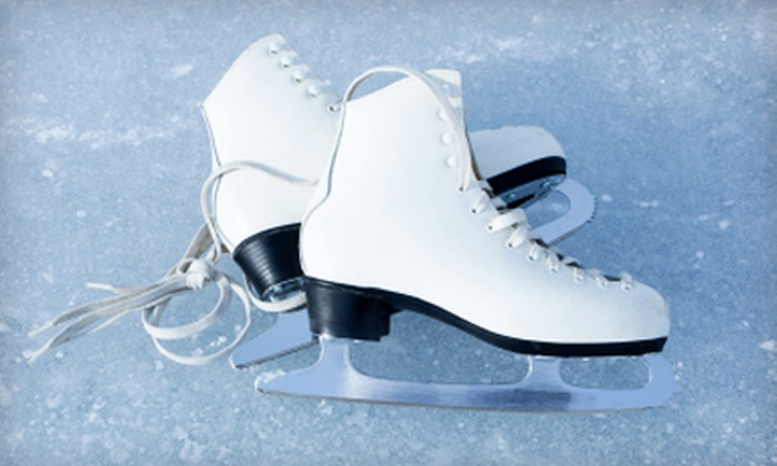 Ice Town - Riverside: $12 for Free-Skate Admission and Skate Rental for Two at Ice Town in Riverside (Up to $26 Value)