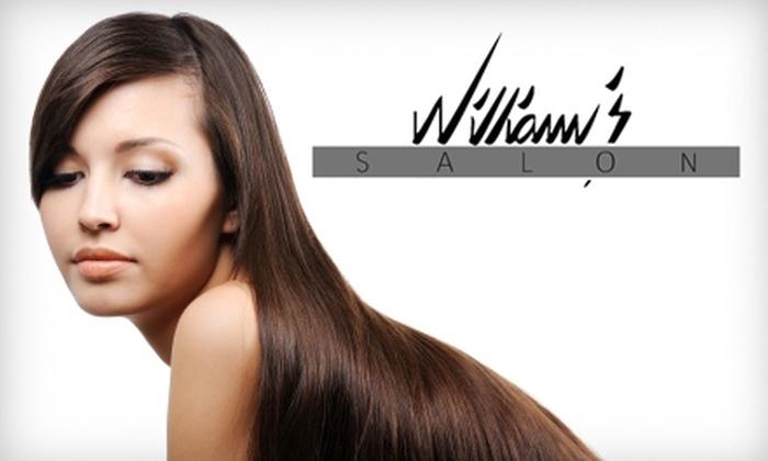 William's Salon - Columbus: $29 for a L'anza Ultimate Conditioning Treatment at William's Salon ($60 Value)