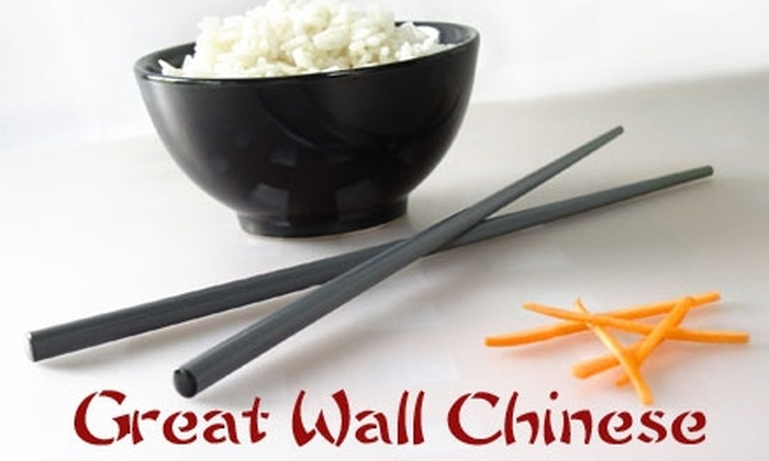 Great Wall Chinese Restaurant - Virginia Beach: $12 for $30 Worth of Chinese Fare at Great Wall Chinese Restaurant