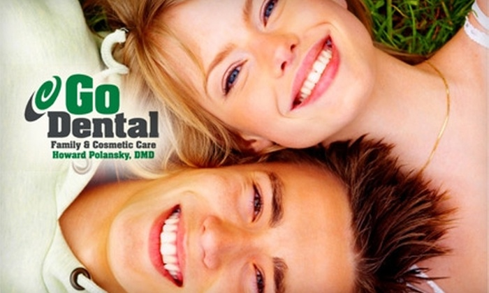 Go Dental - Pflugerville: $97 for an Exam, X-rays, and Teeth-Whitening Treatment at Go Dental (Up to $407 Value)