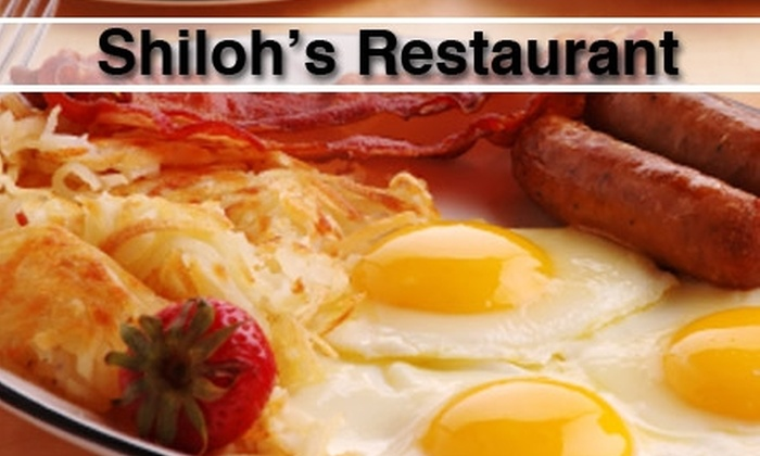 Shiloh's Restaurant - Multiple Locations: $5 for $10 Worth of Homestyle Fare and Drinks at Shiloh's Restaurant