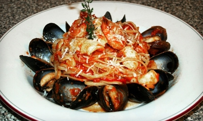 Brownstone Bistro - Downtown Toronto: $20 for $40 Worth of Mediterranean Fare and Drinks at Brownstone Bistro