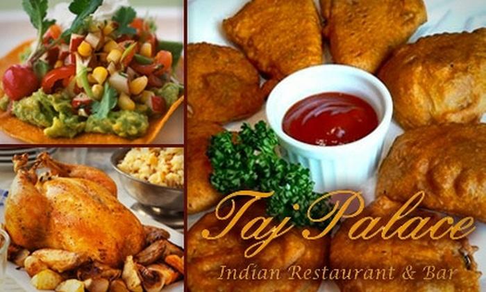 Taj Palace - Highland: $10 for $20 Worth of Fine Indian Fare at Taj Palace