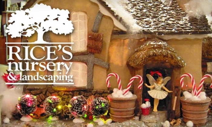 Rice's Nursery & Landscaping - Plain: $5 for $10 Worth of Fairy Garden Decorations at Rice's Nursery & Landscaping in Canton