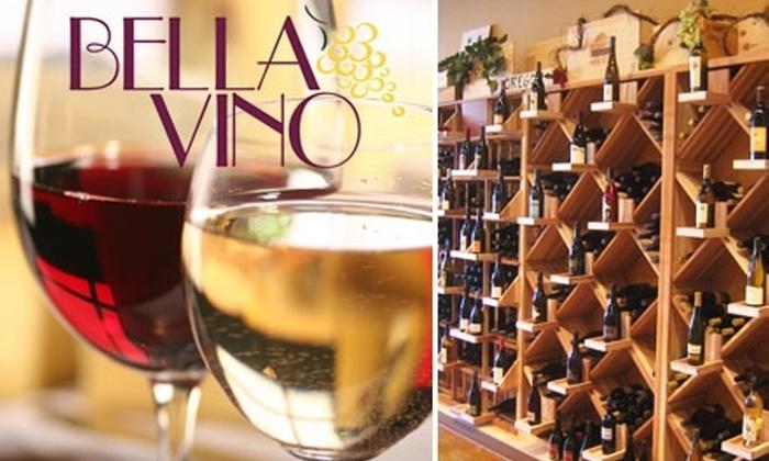Bella Vino Wine Shoppe - North Las Vegas: $15 for $30 Worth of Wine and Accessories at Bella Vino Wine Shoppe