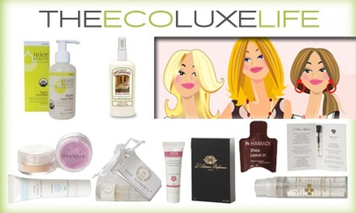 The Eco Luxe Life - Boston: $12 for Seasonal Sacks of Eco-Friendly Goodies from The Eco Luxe Life