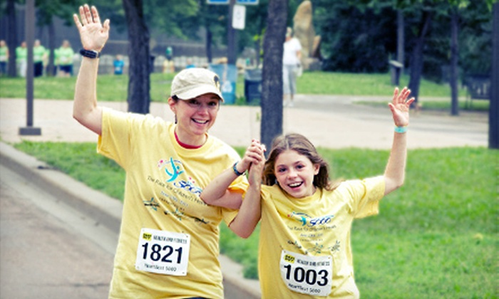 Children's Hospitals and Clinics of Minnesota - Marcy-Holmes: $18 for Entry to the HeartBeat 5000 5K Run/Walk for Children's Hospitals and Clinics of Minnesota ($30 Value)