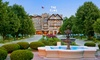 The Elms Hotel & Spa - Excelsior Springs: Stay with Optional Hotel Credit and Grotto Entry at The Elms Hotel & Spa in Greater Kansas City, with Dates into January