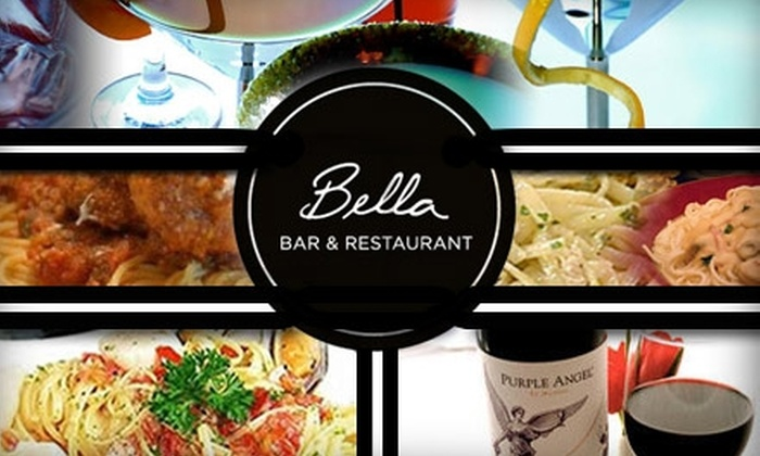 Bella Bar & Restaurant - Oak Lawn: $15 for $35 Worth of Haute Bar Fare at Bella Bar & Restaurant
