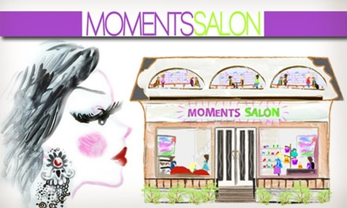 Moments Salon - Camelback East: $37 for a European Facial and Eyebrow Shaping From Moments Salon ($95 Value)