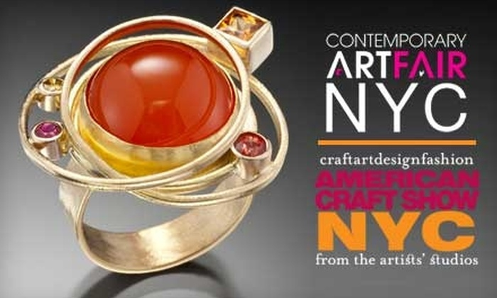 American Craft Show NYC and Contemporary Art Fair NYC - Hell's Kitchen: $16 for Two Tickets to One Day of the American Craft Show NYC and Contemporary Art Fair NYC ($32 Value)