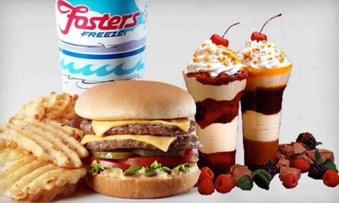 Fosters Freeze - Sanger: $6 for $12 Worth of Ice Cream and Burgers at Fosters Freeze in Sanger