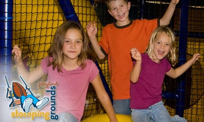 Stomping Grounds Playland - First Colony Commons: $6 for One Admission and Kid's Meal at Stomping Grounds Playland