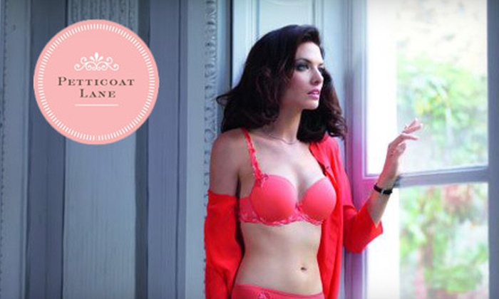 Petticoat Lane - Upper East Side,Uptown: $35 for $75 Worth of Lingerie, Sleepwear, and Accessories with Brands Including Spanx, Hanky Panky, and More at Petticoat Lane