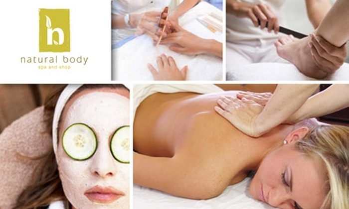 Natural Body Spa & Shop - Washington DC:  $65 for an Indulgent Package at Natural Body Spa and Shop (Up to $139 Value)
