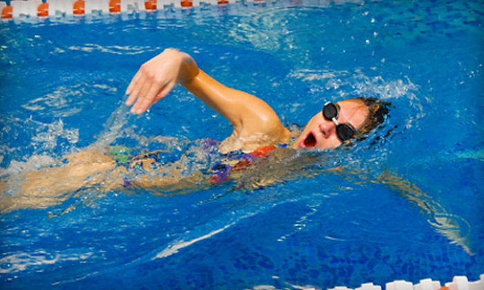 Swim Gym - Kendall: Eight Sessions of Kids' Group Swimming Lessons or One Month of Unlimited Adult Swim-Fitness Classes at Swim Gym