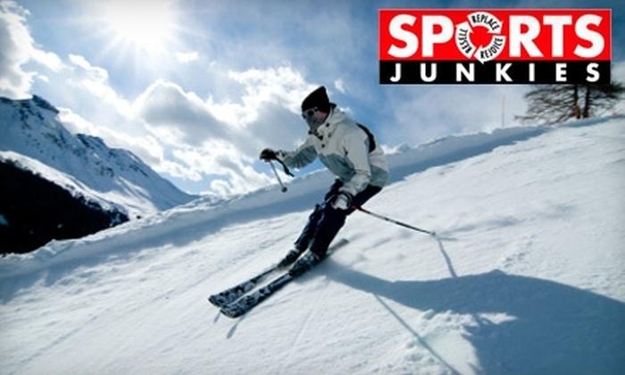 Sports Junkies - Mt. Pleasant: $15 for a Ski or Snowboard Tune-Up at Sports Junkies ($29.99 Value)