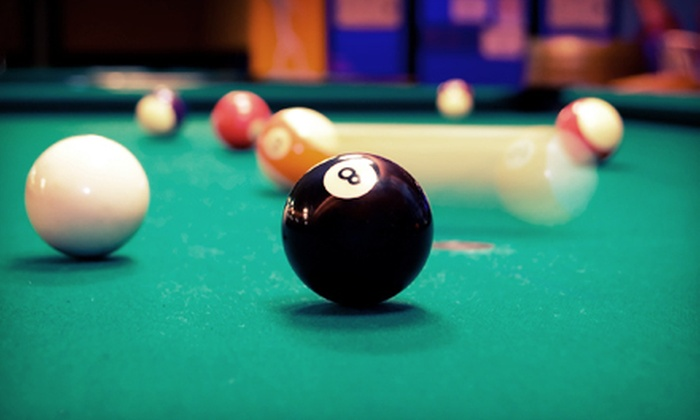 The Rack - Livonia: $10 for Two Hours of Billiards and Snacks for Two at The Rack in Livonia (Up to $20 Value)
