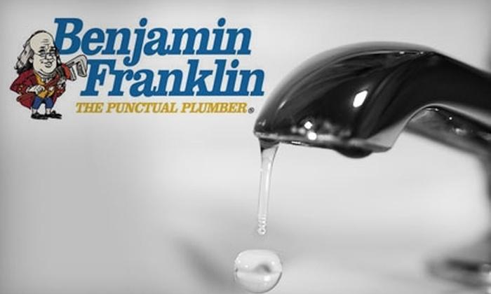 Benjamin Franklin Plumbing - Wichita: $45 For $100 Worth of Plumbing and Drain Services from Benjamin Franklin Plumbing
